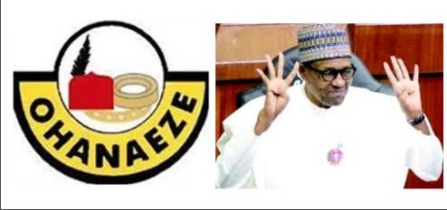 ohanaeze warns Buhari