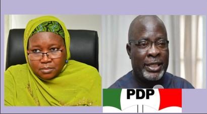 "PDP cries ""Remove Amina Zakari"" The INEC boss 39"