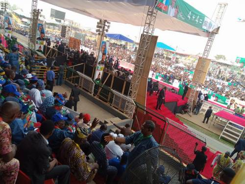 Ogun APC presidential rally finishes in disarray 9