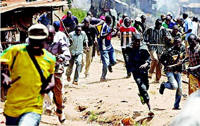 Multiple Persons Injured as Hausa, Yoruba youths clash at Fagba, Lagos