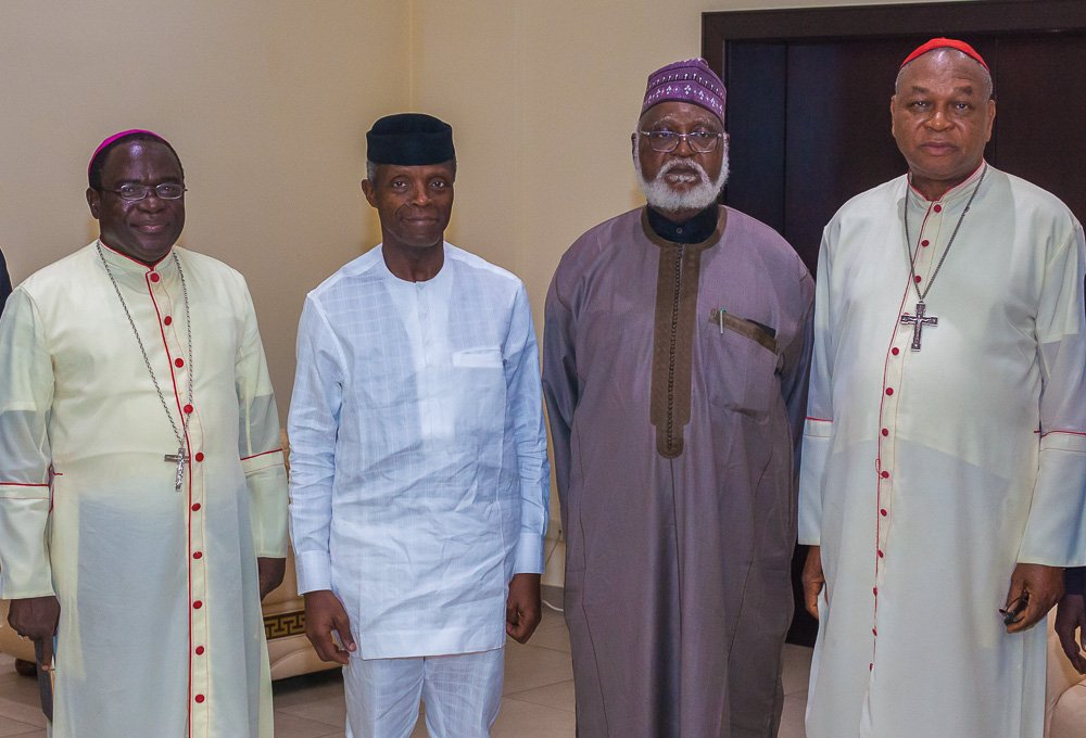 Osinbajo meets Peace Committe