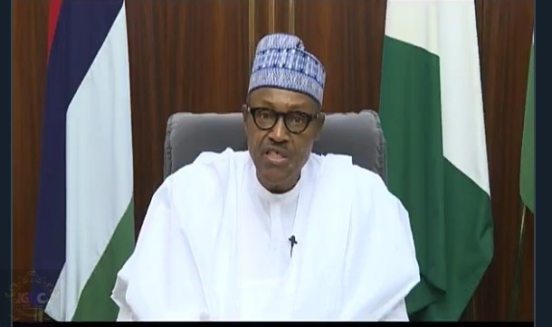 Buhari Mesaage to Nigerians For State Elections (Video) 1
