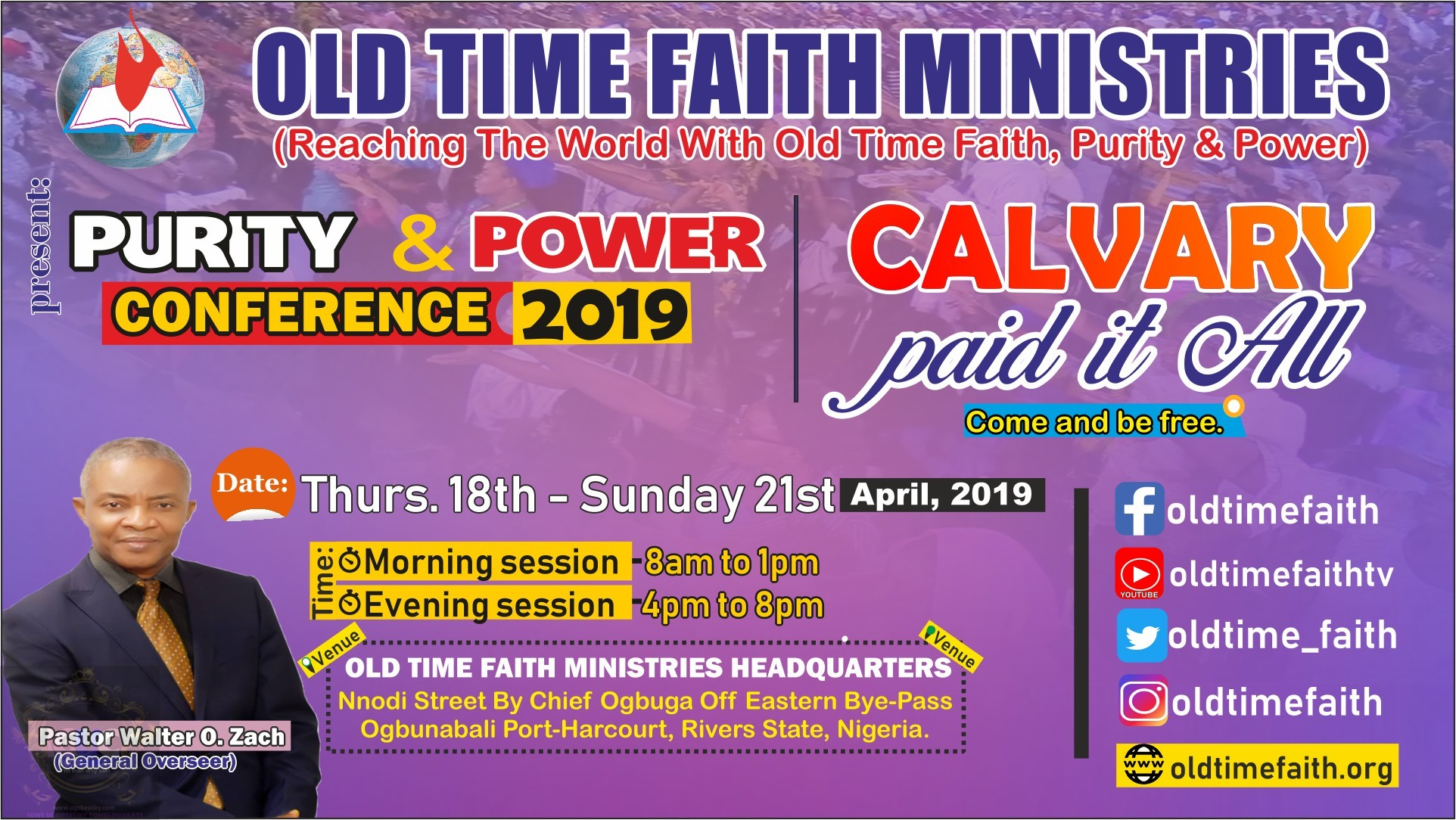 Purity and Power Conference 2019 1
