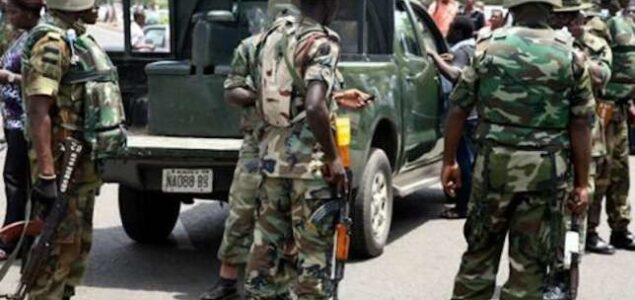 Finally Nigeria Army reveals who asked them move to Lekki Toll Gate