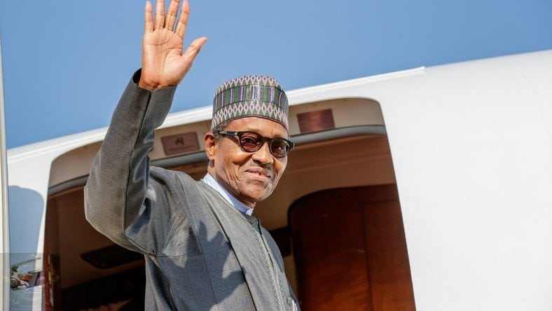 buhari in liberia