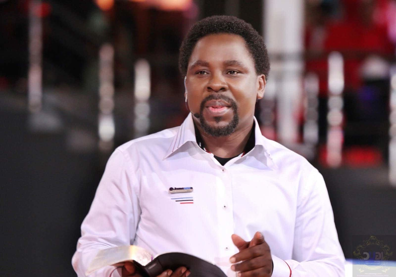 US Election: I wait for inauguration of the new president - T.B Joshua