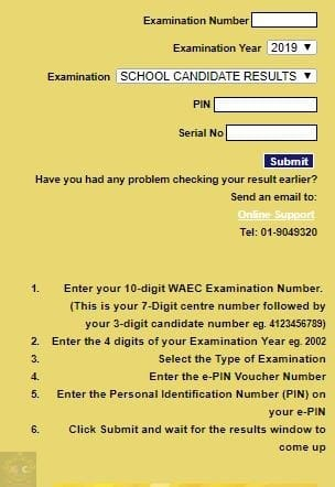 waec result is out