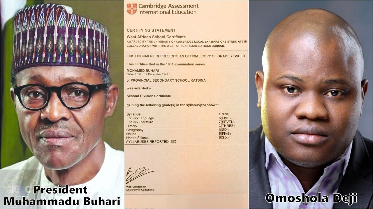 BUHARI'S CERTIFICATE CONTROVERSY AND THE ESSENTIALITY OF EDUCATION 1