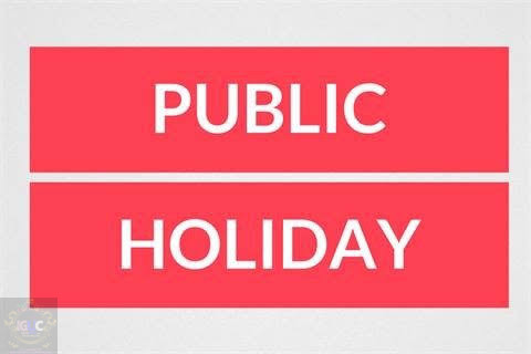 FG declares Monday, Tuesday public holidays 1