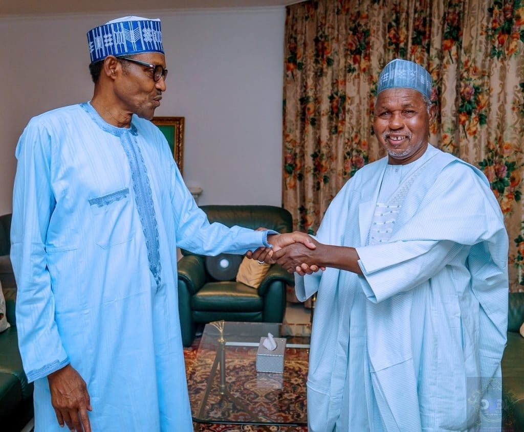What Buhari said to Gov Masari in Katsina