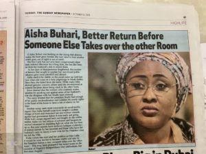 Buhari new wife
