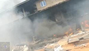 Onitsha Market on Fire