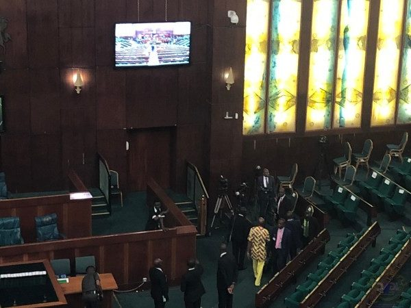 Buhari presents Nigeria's 2020 budget to National Assembly (LIVE UPDATES)