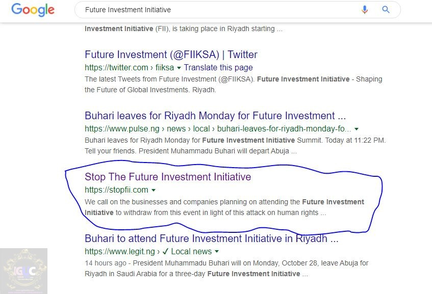 why we stopped Future Investment Initiative, what is Future Investment Initiative, why we stopped Future Investment Initiative, FII