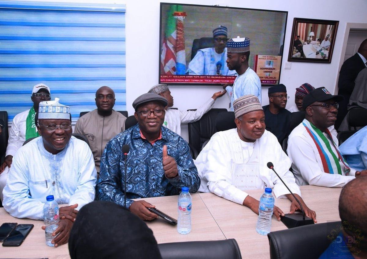 buhari meeting with apc