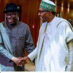 Buhari, Goodluck Jonathan meet