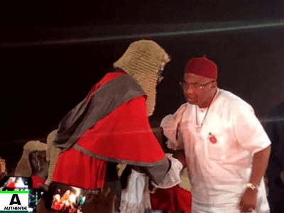Oshiomhole, Okorocha, Uzodinma reconciles after Supreme Court Victory