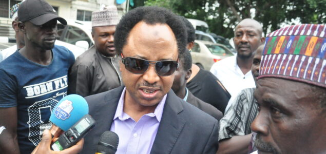 Shehu Sani condemns Nnamdi Kanu's ESN for attacking herdsmen, killing cows