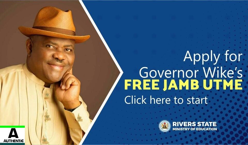 Rivers state Free JAMB