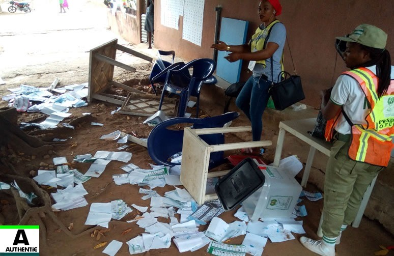 Political Thugs Invade INEC Collation Centre In Imo State