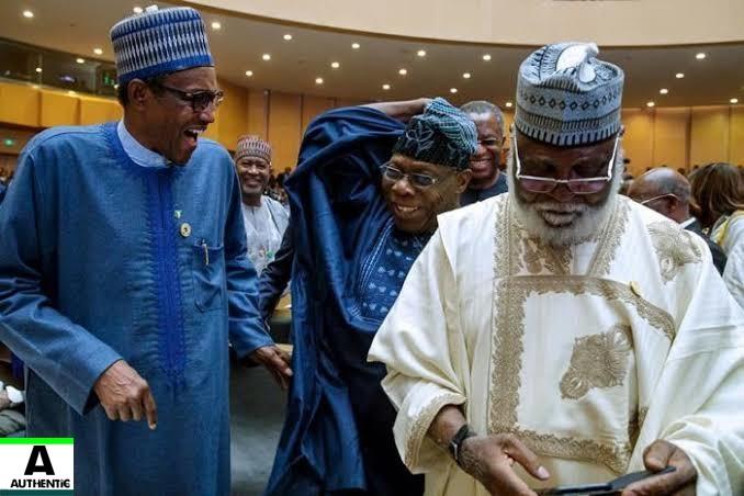 Buhari,obasanjo,buhari obasanjo,Buhari obansanjo meet,Nigeria news
