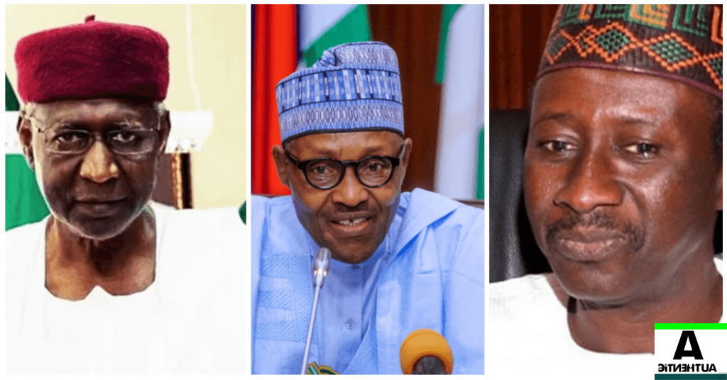 abba Kyari, Buhari and Monguno