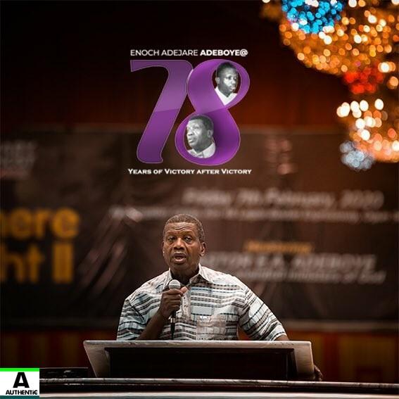 Enoch Adeboye at 78