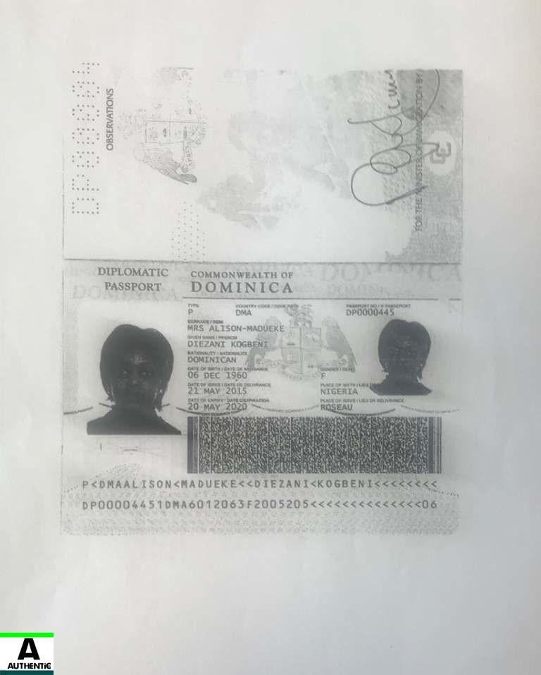 Diezani becomes Dominican Republic citizen gets Immunity