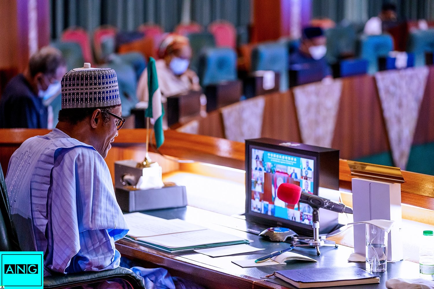 Buhari attends China- Africa Extraordinary Summit on Solidarity Against COVID-19 Pandemic