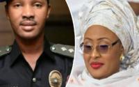 Aisha Buhari's ADC, security details restored