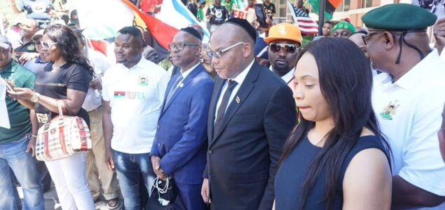 Nnamdi Kanu gets Igbos Support for Biafra after 12 Resolutions reached