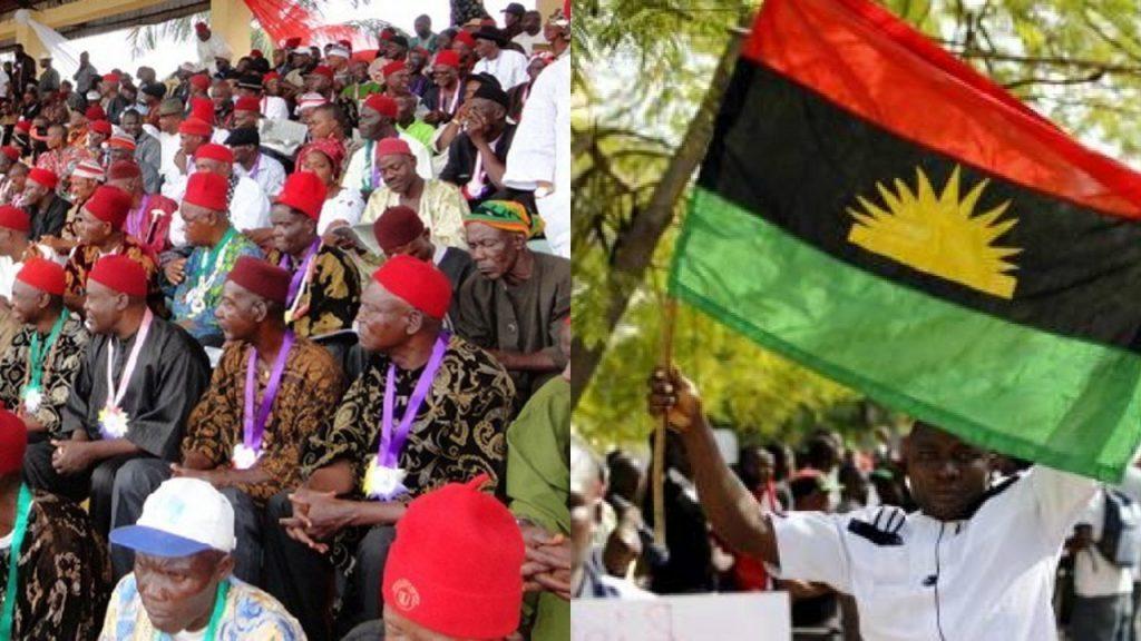 Ohanaeze kicks as IPOB declares sit-at-home over Kanu's detention