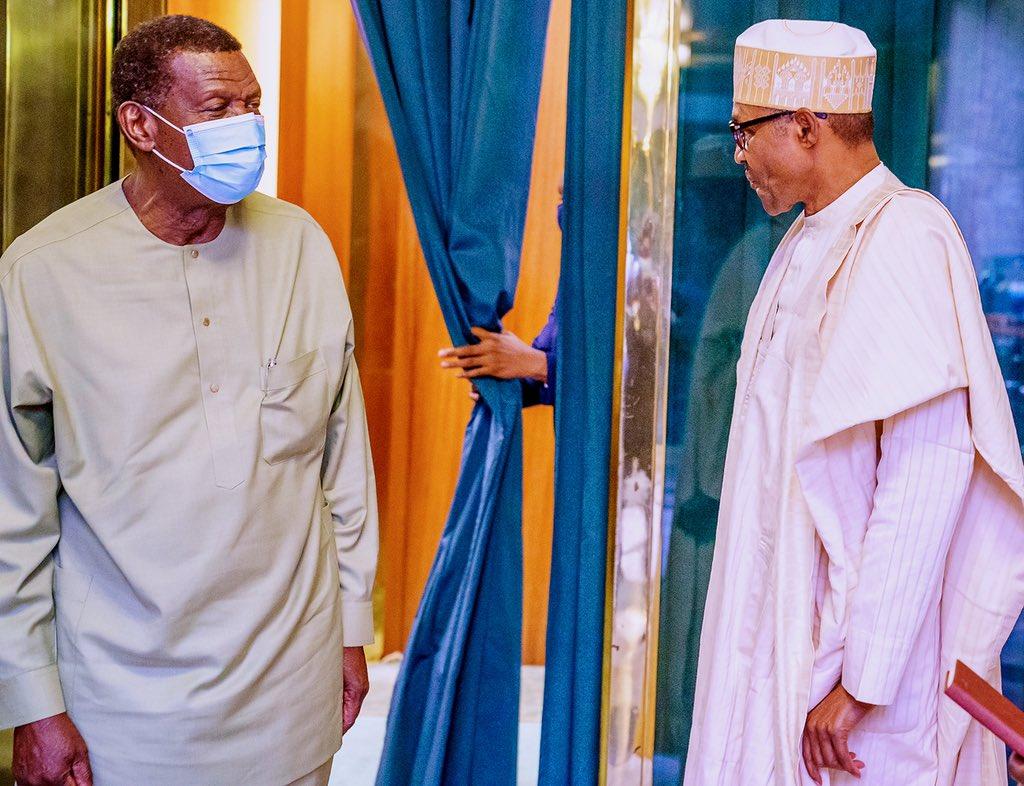 Nnamdi Kanu: Adeboye Meets Buhari pictures are deepfaked
