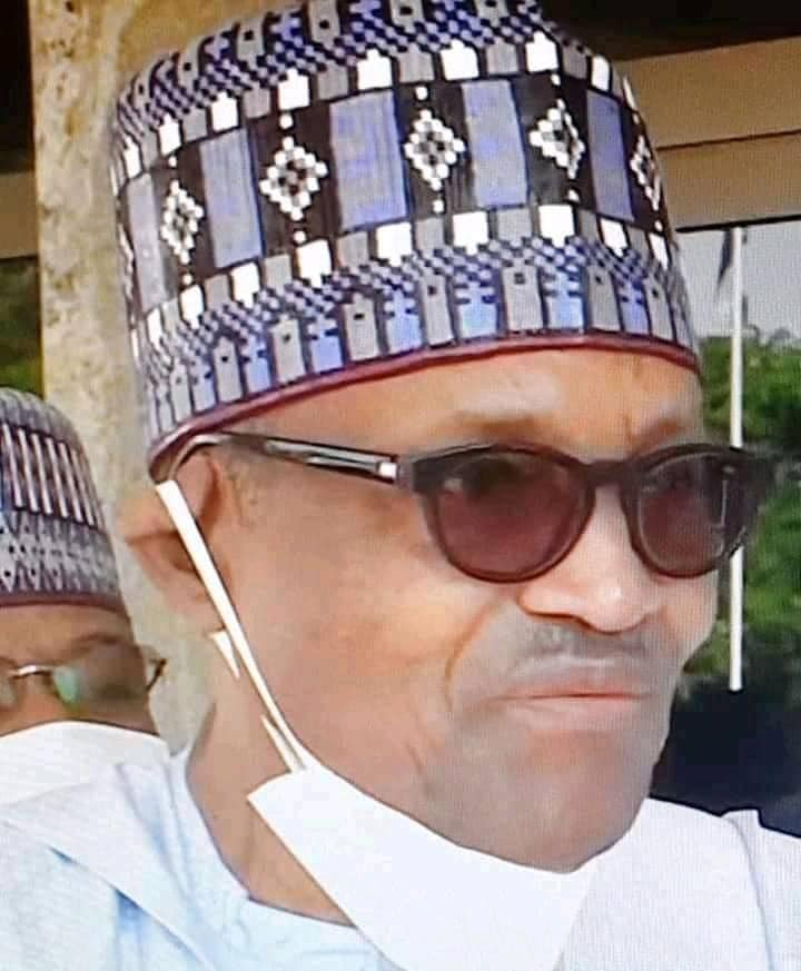 Nnamdi Kanu releases final confirmation that Buhari is Dead and replace with a mask