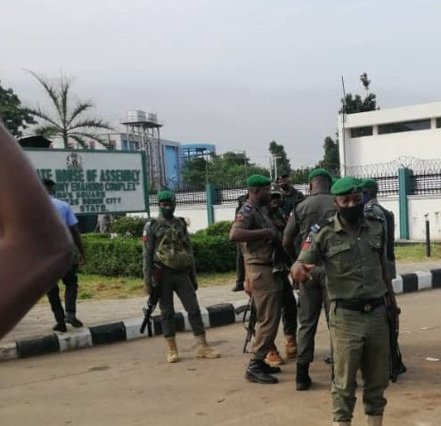 Invasion Of Edo Assembly: PDP asks IGP to Stop APC