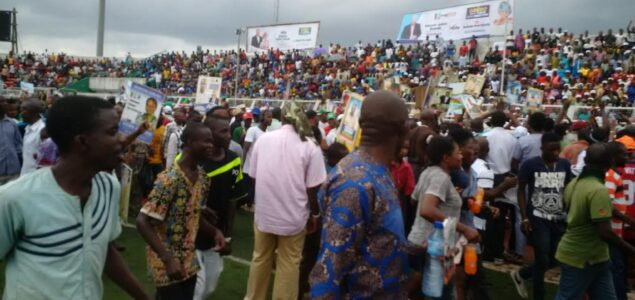 Tight security as APC, PDP hold rallies in Benin 1