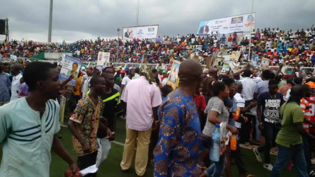 Tight security as APC, PDP hold rallies in Benin 2