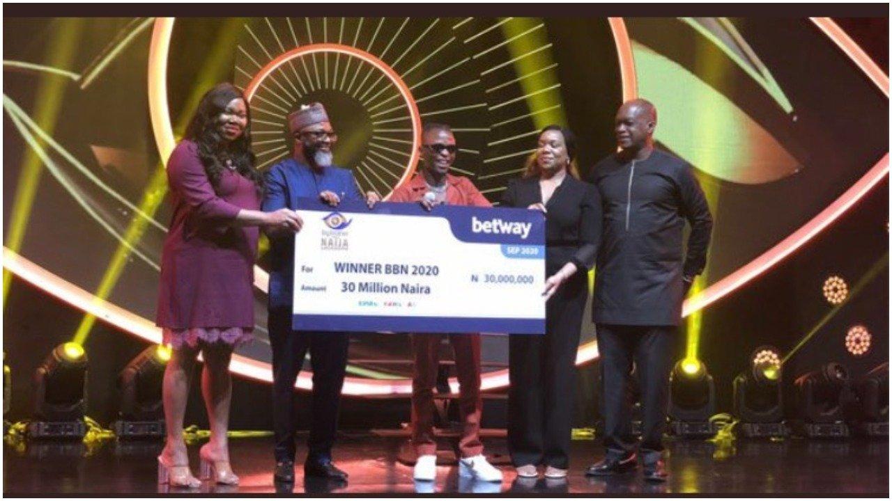 BBNaija 2020: Laycon receives N30m, car, house keys 1