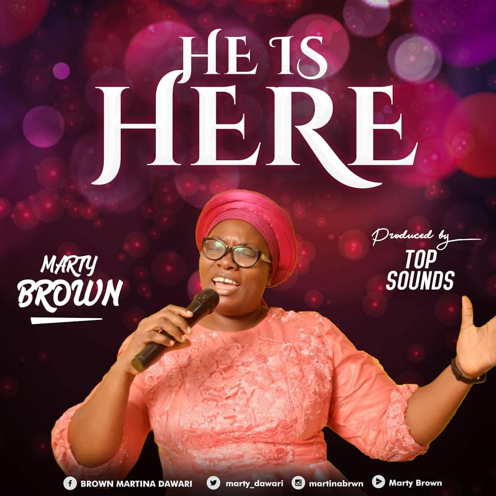 He is here - Marty Brown