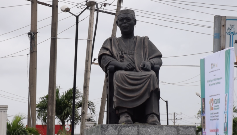Awolowo's glasses stolen from statue in Lagos
