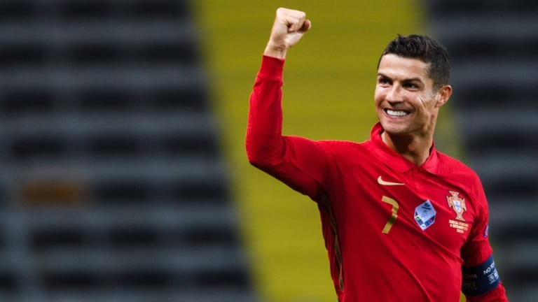 Cristiano Ronaldo back to pitch as he recovers from COVID-19