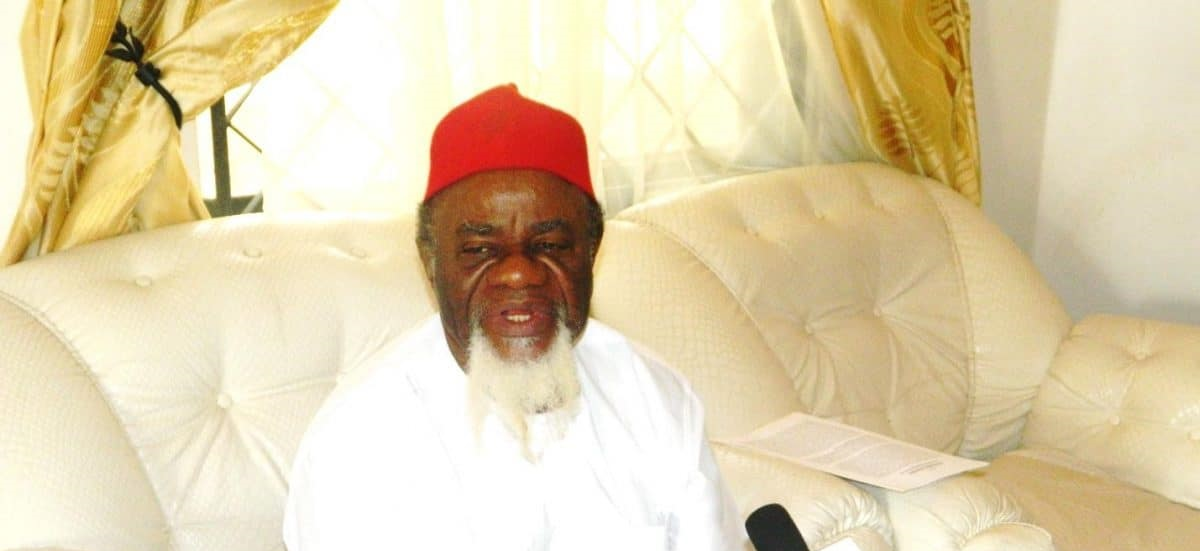 Ezeife says Igbos ready to go on their knees to beg Atiku, others not to Contest 2023 Presidency