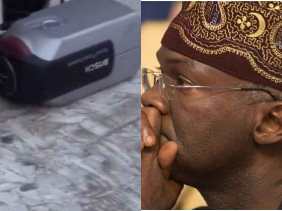 Nigerians Mock Fashola's discovery of mystery camera at Lekki toll gate