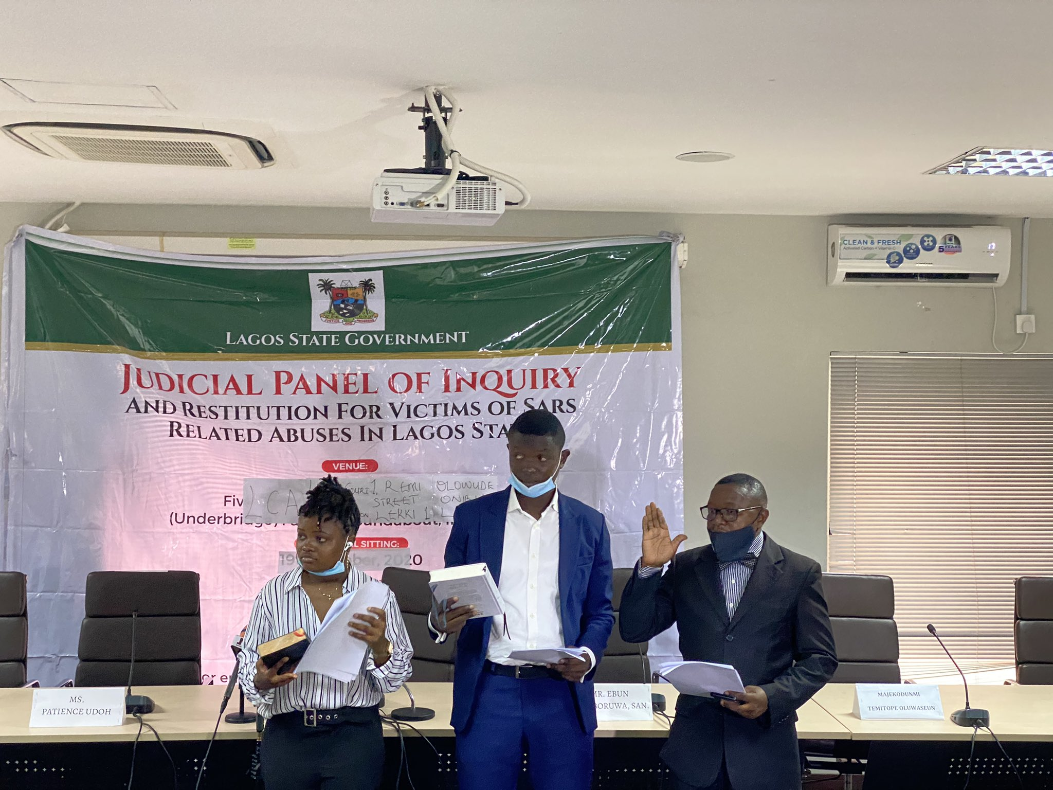 SARS Panel: Shock as Lagos issues oath of secrecy to youth reps