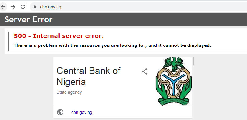 """ENDSARS: CBN website goes offline following """"Anonymous"""" attack"""