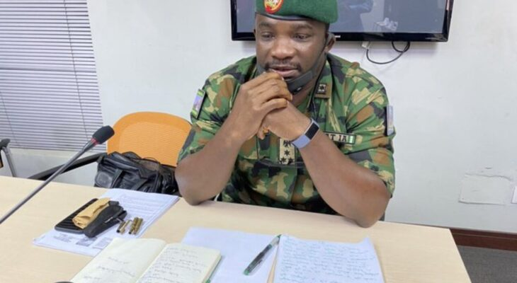 ENDSARS: Nigeria Army reveals why they moved to Lekki Toll Gate