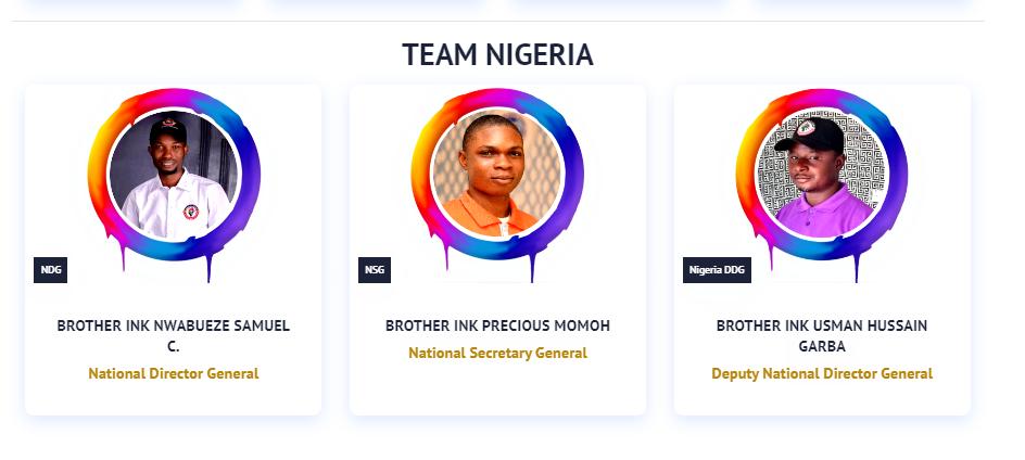 Inksnation Nigeria Team