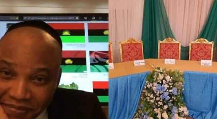 Nnamdi Kanu mocks Wike, Others as Presidency snubs their Meeting