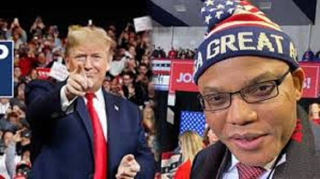 Trump is like Biafra – Nnamdi Kanu