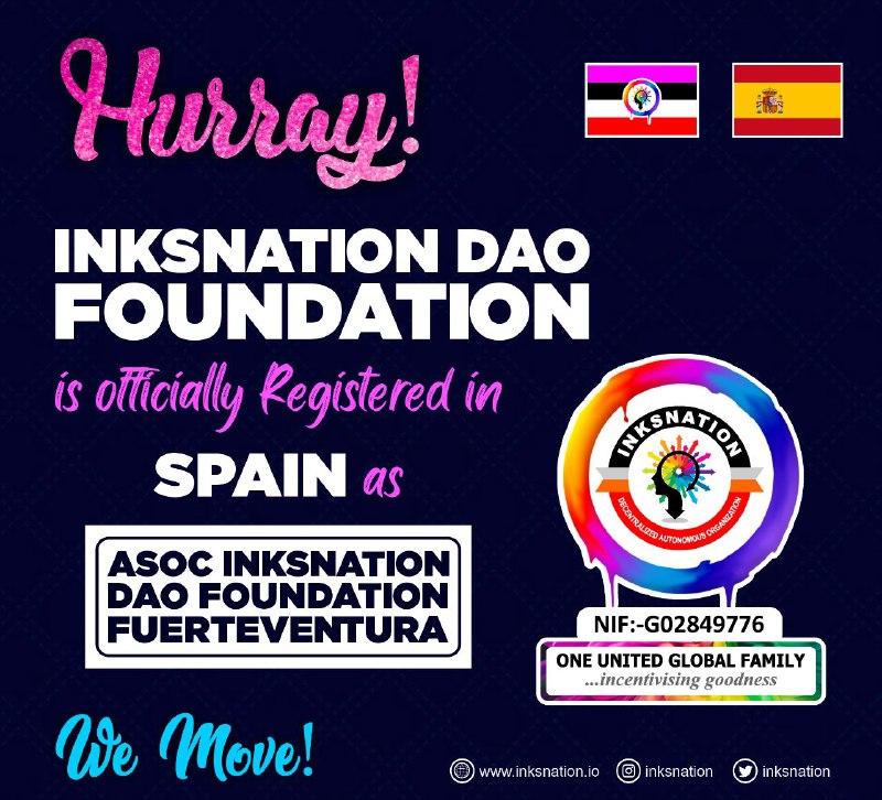 Inksnation Is now registered in Spain - Founder, Omotade Sparks